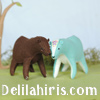 Delilah Iris felt toy sewing patterns