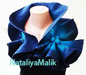 Unique wool handmade accessories, Fashion ideas for gifts Felted Scarves, Collars, Shawls, Handbags, Wall Decor