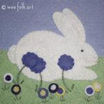 Spring Bunny Applique :: Springtime Collection