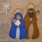 Nativity Applique :: Advent Activities Collection