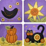 October Inspired Applique Collection