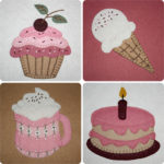Sweet Treats Applique Collection
