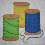 Spools of Thread Applique :: Crafting Collection