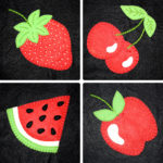 Super Sweet Fruit Appliques Collection