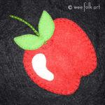 Apple Applique :: Super Sweet Fruit Collection