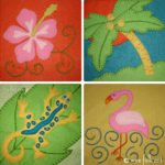Tropical Designs Applique Collection