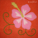 Hibiscus Applique :: Tropical Designs Collection