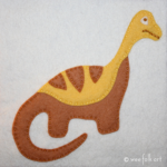 Dinosaur Applique Collection – Apatosaurus
