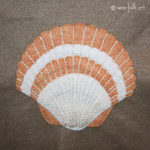 Scallop Shell Applique :: Stroll on the Beach Collection