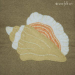 Conch Shell Applique :: Stroll on the Beach Applique Collection