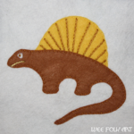 Dinosaur Collection :: Dimetrodon Applique