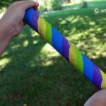 Mini Rain Stick from Recycled Materials