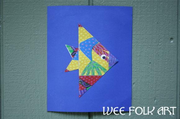How To Fold An Origami Angel Fish Homeschool Companion