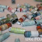 Rolled Paper Beads Instructions