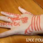 Henna Hands Craft for Children