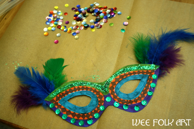 Carnival Mask Craft