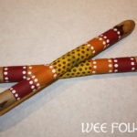 Aboriginal Clapping Sticks