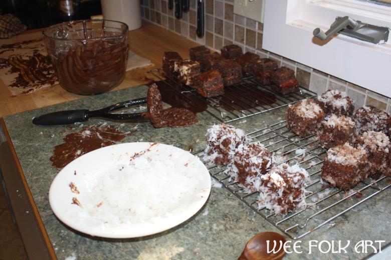 Lamington Cake Recipe