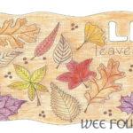 Nature Alphabet Coloring Page Letter L