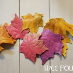 Clay Maple Leaf Craft