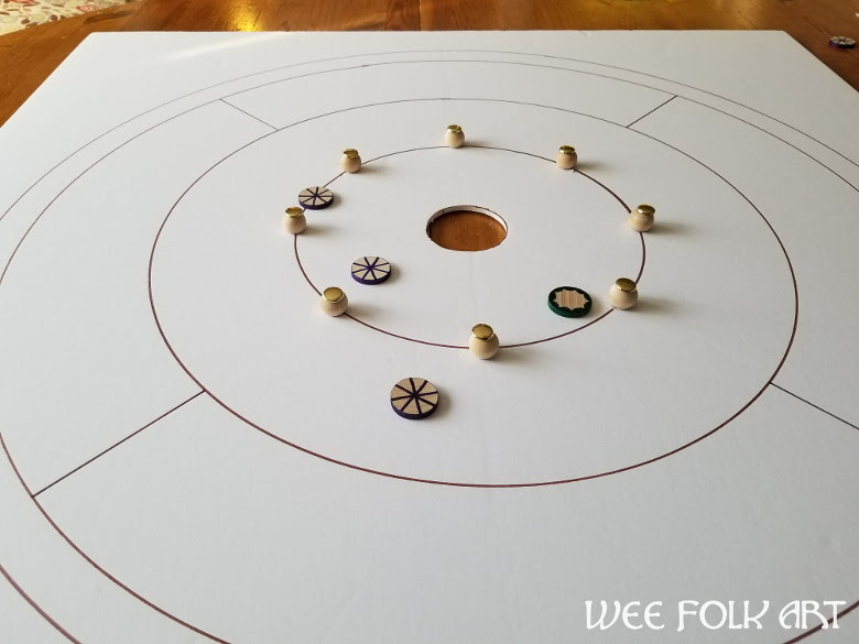 how to make a crokinole game
