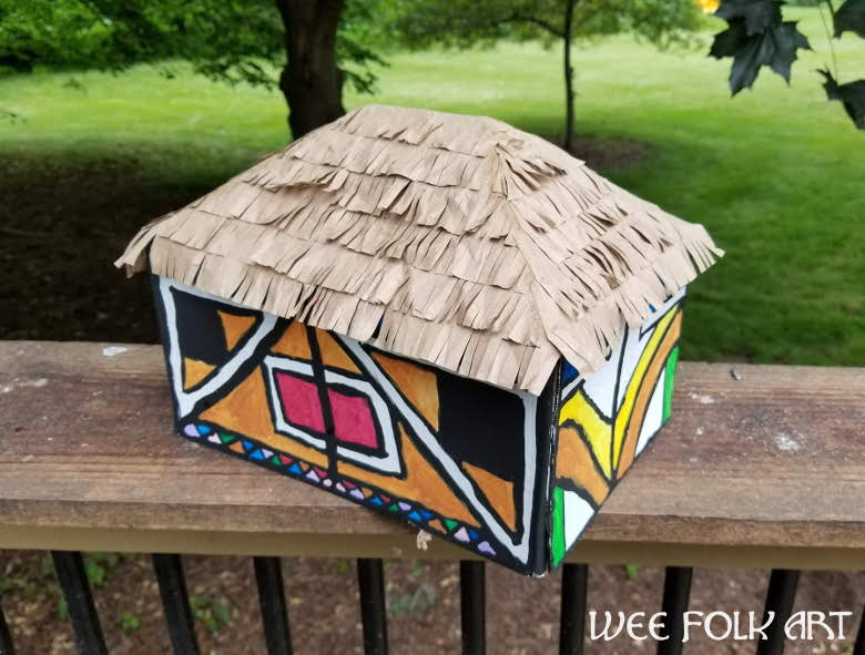 Ndebele House Painting Project - Homeschool Companion | 591x780