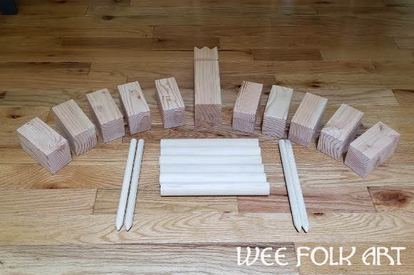 Kubb Game With Rules Tutorial Homeschool Companion
