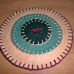Wool Penny Coaster Directions