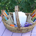 Craft Basket – Fast to Make Using Recycled Materials