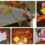 Felt Leaves Fall Garland Tutorial