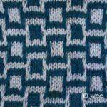 Learn to Knit Afghan :: Block Nine