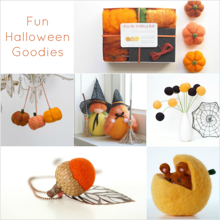 Fun Halloween Goodies from The Magic Onions Shop