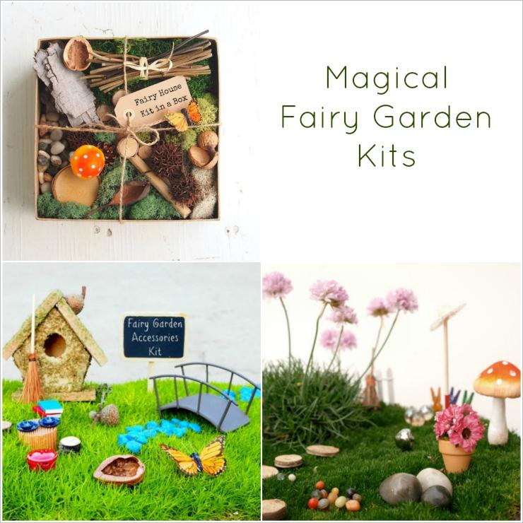 The Magic Onions Shop - Fairy Garden Kits