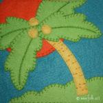 Palm Tree Applique