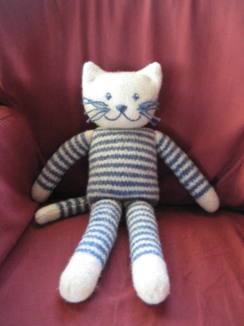 Cat And Mouse Knit Patterns Wee Folk Art
