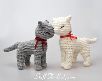 crochet big cat | Son's Popkes | 278x350