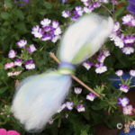 Easy to Make Wool Roving Dragonfly