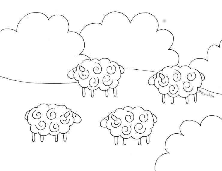 Barnyard Sheep740