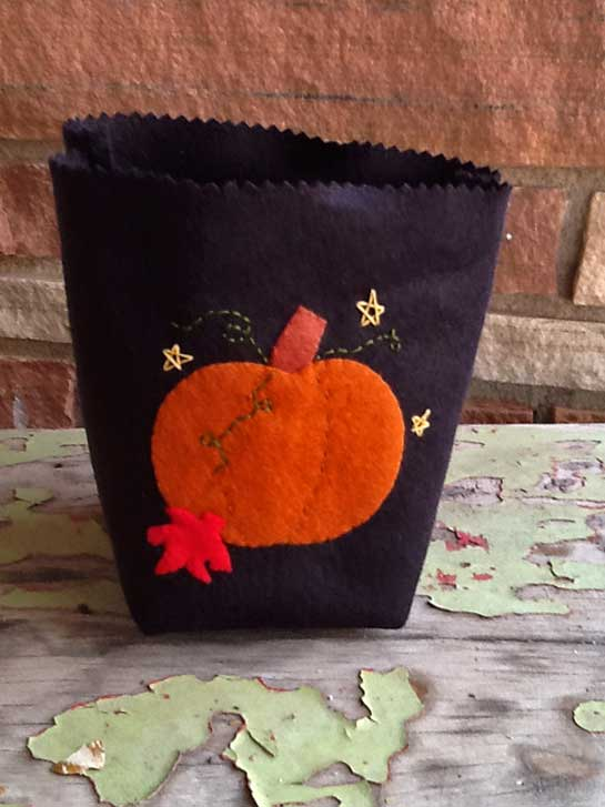 Prairie Point Junction Fall Amp Winter Treat Bags Tutorial