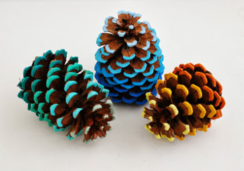 Pinecone And Acorn Crafts Wee Folk Art
