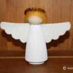 Wooden Advent Angel