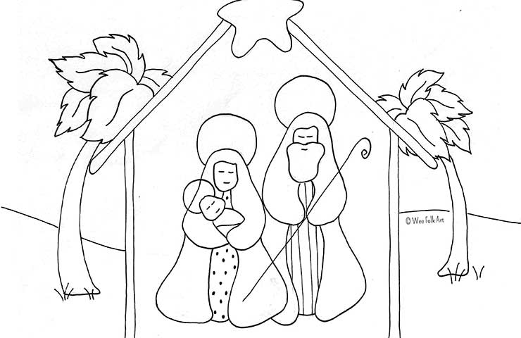 nativity-coloring-ffeatured