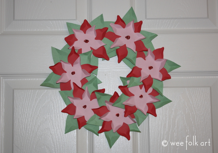 paperpoinsettiawreath-done740wm