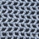 Learn to Knit Afghan :: Block Twenty-Two