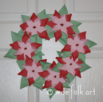 paperpoinsettiawreath-350