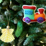 Felt Pickle Ornament