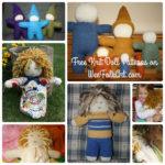 Free Knit Doll Patterns on Wee Folk Art