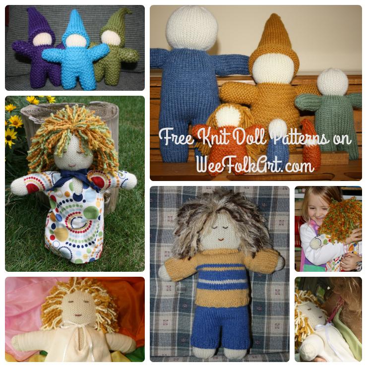 knitdolls collage
