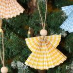 Paper Fan Angel Craft