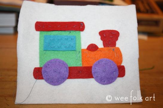 toy train ornament - baste545wm